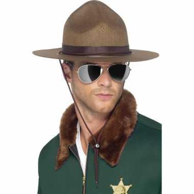 Amerikaanse sheriff hoed