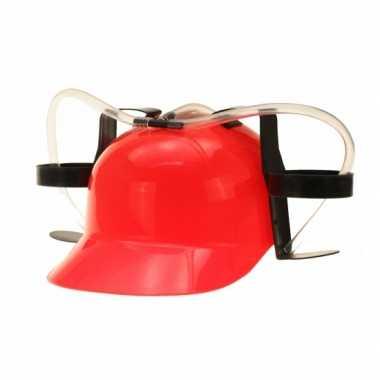Bier helmen rood