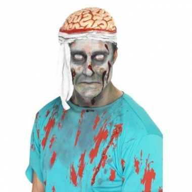 Bloederige hersenen hoedje