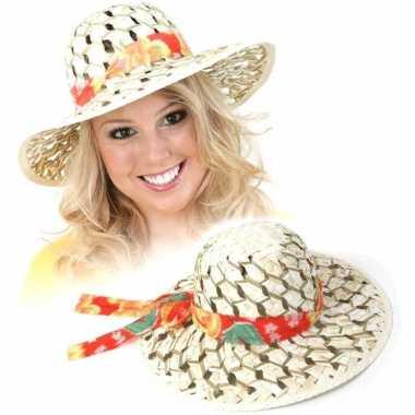 Caribische stro hoed dames