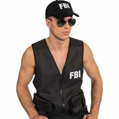 FBI pet zwart volwassenen