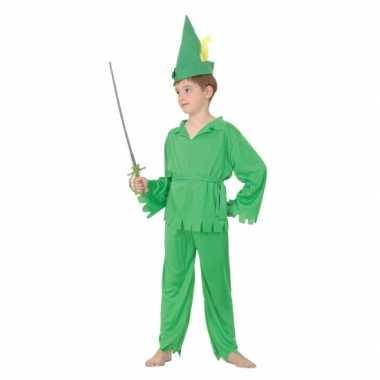 Groen Robin kostuum jongens