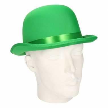 Groene bolhoed volwassenen