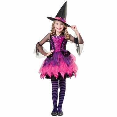Halloween barbie heksen kostuum meisjes