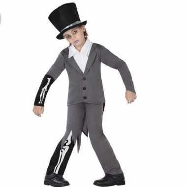 Halloween bruidegom kostuum kinderen