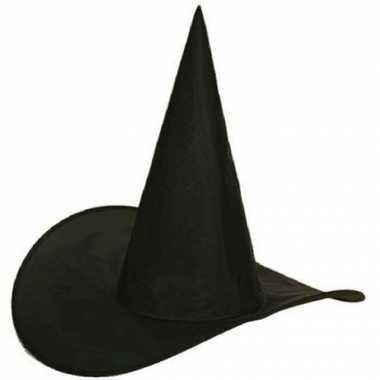 Halloween hoge heksenhoed kinderen
