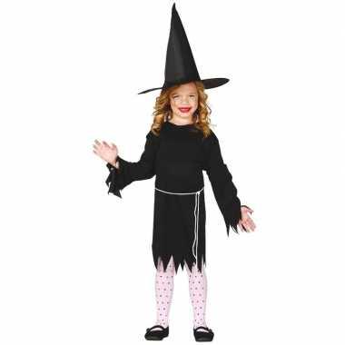 Halloween zwart heksen kostuum budget meisjes