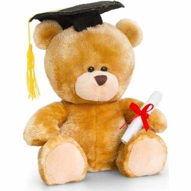 Keel toys pluche geslaagd beren knuffel cadeau