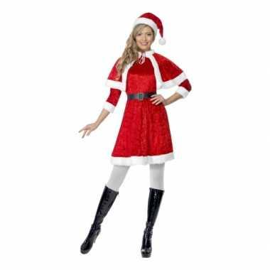 Kerstjurkje dames cape