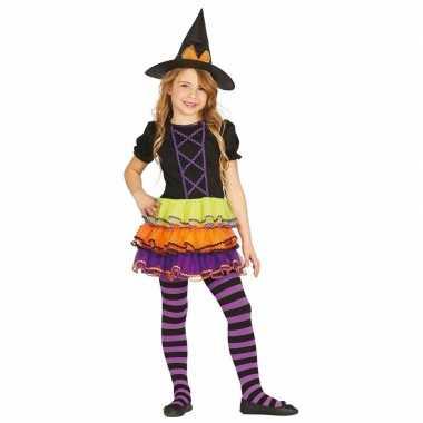 Luxe heksen kostuum brujita kinderen