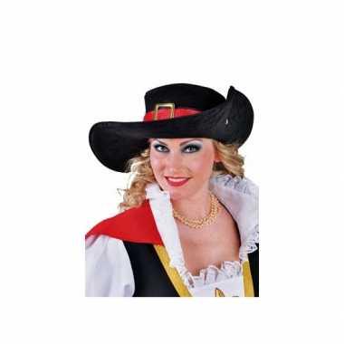 Luxe musketiers hoed
