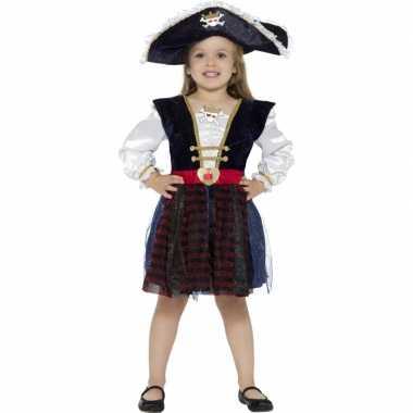 Luxe piraten jurkje meisjes
