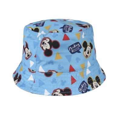 Mickey mouse vissershoedje kinderen