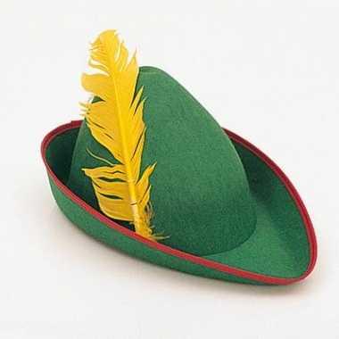 Oktoberfest Groene Peter Pan hoed