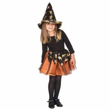 Oranje heksenset meisjes