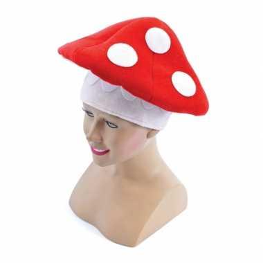 Paddenstoel hoed volwassenen