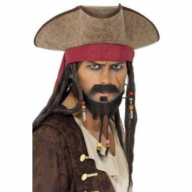 Piraten hoed Jack Sparrow
