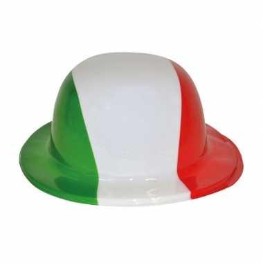 Plastic bolhoed Italiaanse kleuren
