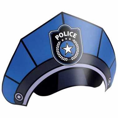 Politie feesthoedjes stuks