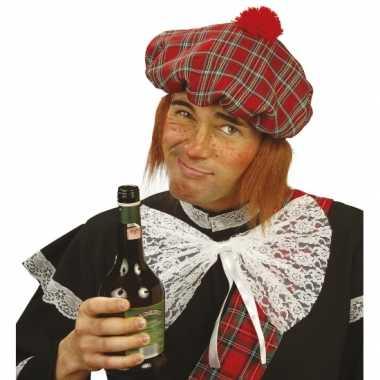 Schotse muts pruik