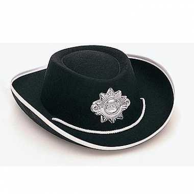 Sheriff hoed kinderen