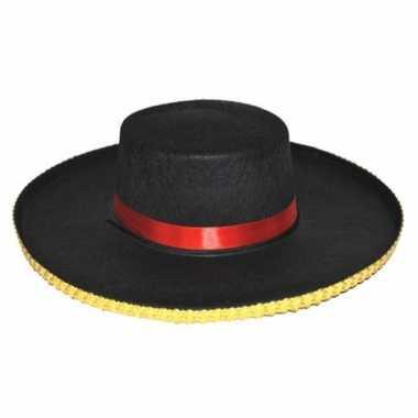 Spaanse dames hoed carmen