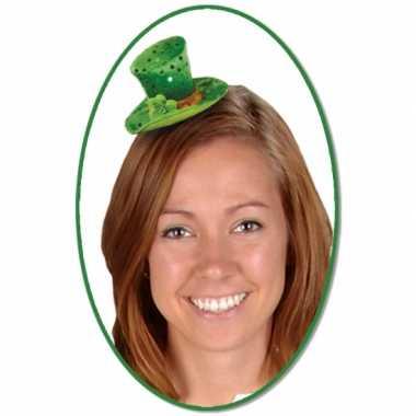 St. Patricks Day hoedje clip