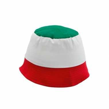 Supporters hoedje Italie