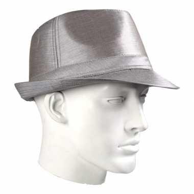 Timberlake luxe hoed zilver