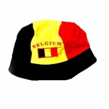 Vissershoedje Belgische vlag