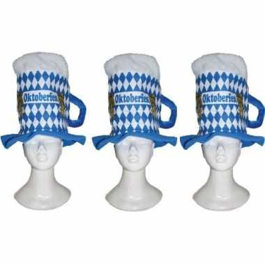 X bierpul oktoberfest verkleed hoeden