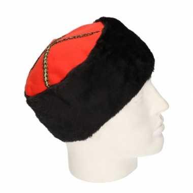 X stuks kozakken verkleed hoed volwassenen