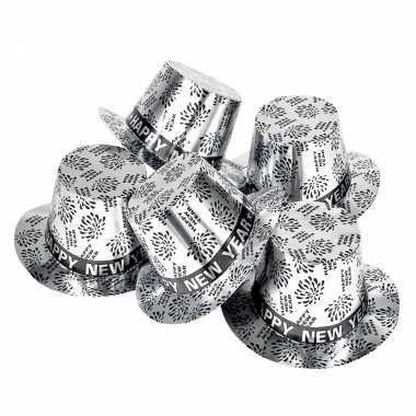 X zilveren hoeden happy new year
