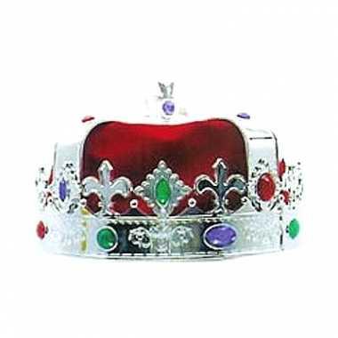 Zilveren koningskroon