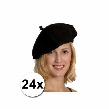 Zwarte Franse baretten