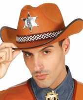 Amerikaanse sheriff hoed 10071694