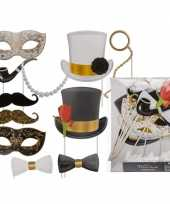Foto prop set glamour party stuks