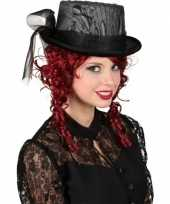 Gothic hoge hoed kant