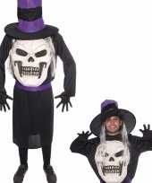 Halloween doodskop halloween hoed kostuum heren