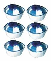 X stuks blauw matrozen hoedjes matrozenpetjes 10273923